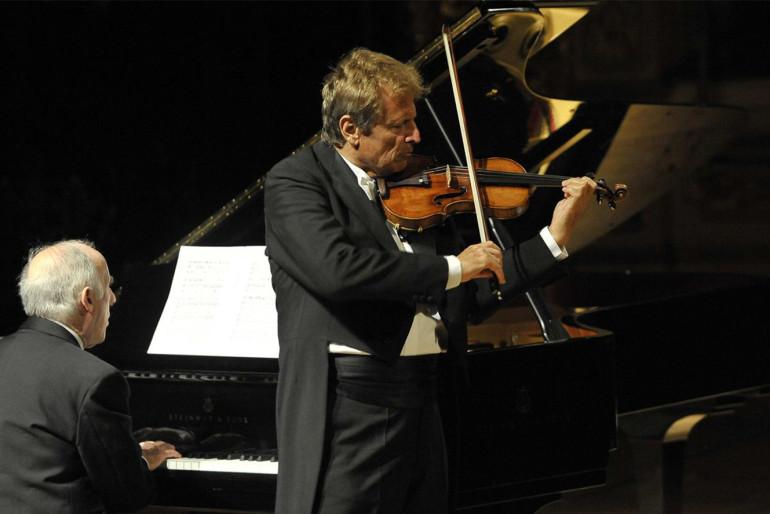 UTO UGHI, violino – BRUNO CANINO, pianoforte