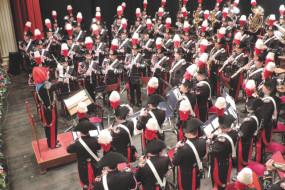 CONCERTO DELLA BANDA MUSICALE  DELL'ARMA DEI CARABINIERI